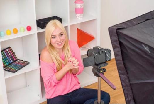 Die Youtuberin Bianca Heinicke