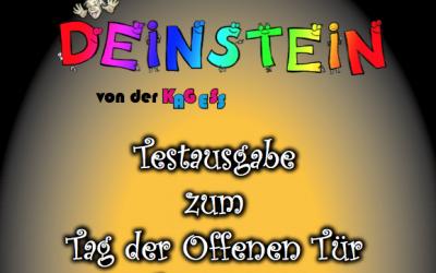 Deinstein Ausgabe 1