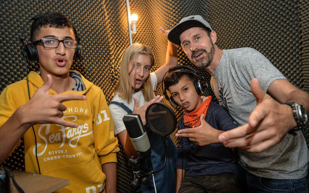 Rap-Projekt Sprachlernklasse 1