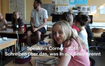 Speakers Corner – August 2018