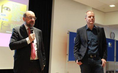 Europatag an der AES mit Martin Schulz & Matthias Miersch